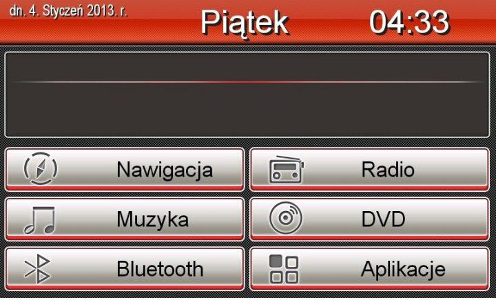 menu nawigacja