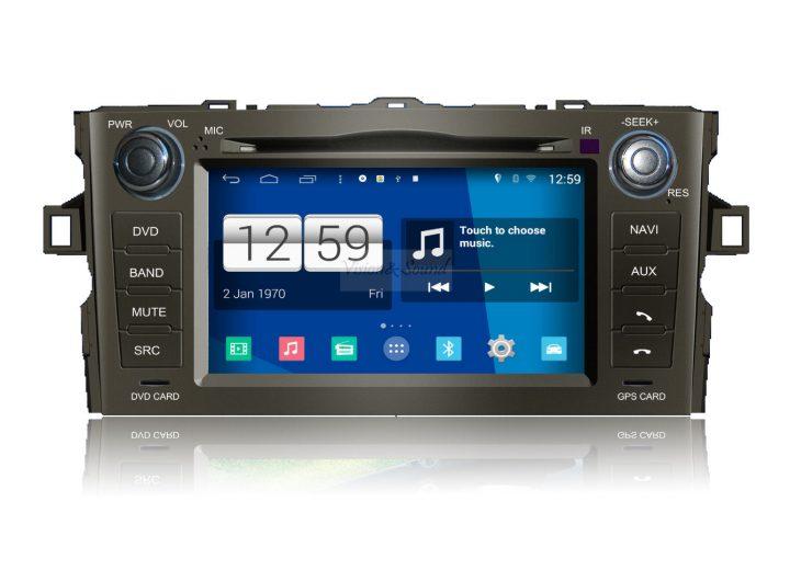 V&S Nawigacja Toyota Auris 2006 - 2012 Android - Line PL