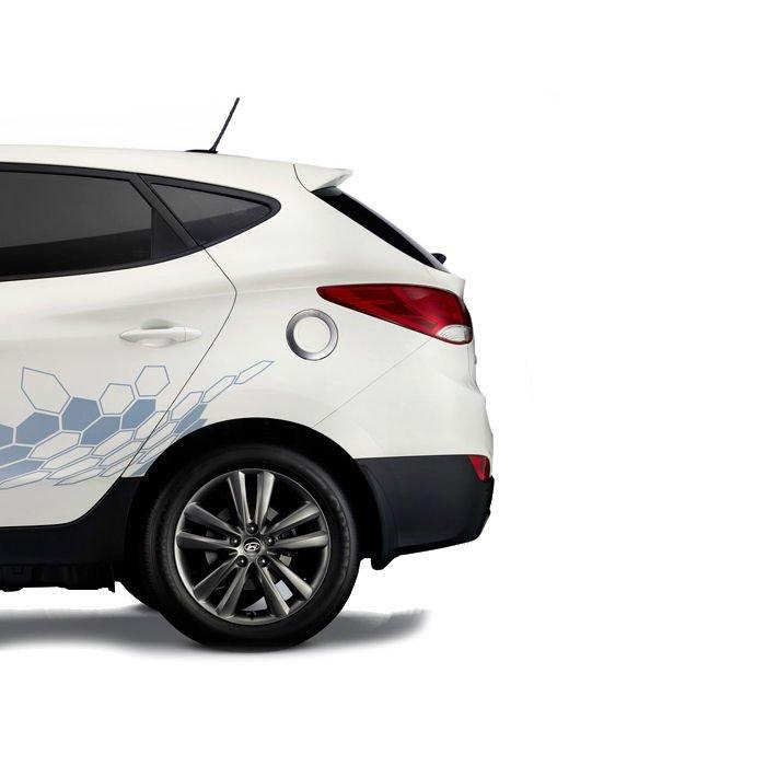 Inteligentny system otwierania i zamykania klapy bagażnika Hyundai IX 35 2010 - 2015