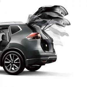 Inteligentny system otwierania i zamykania klapy bagażnika Nissan X-Trial 2014 - 2016