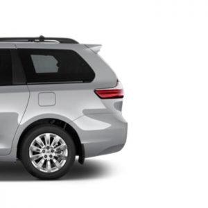 Inteligentny system otwierania i zamykania klapy bagażnika Toyota Sienna 2015 >