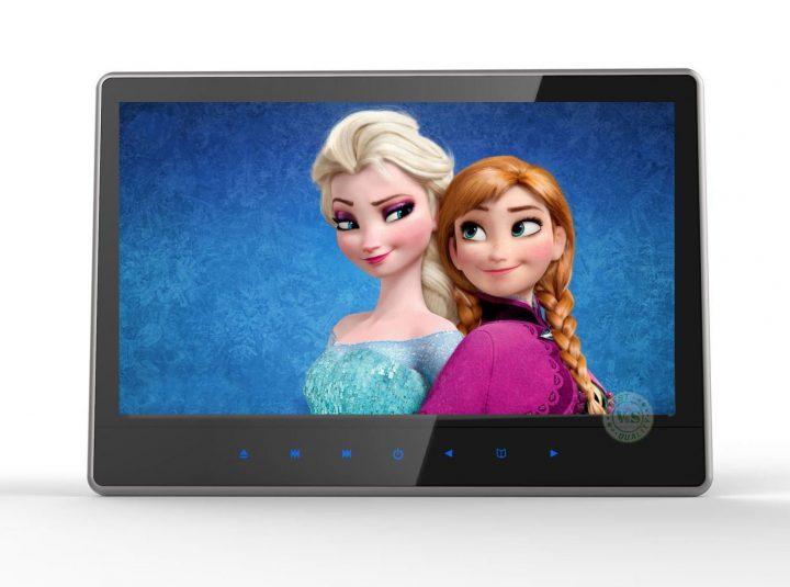 V&S Profesjonalny Monitor Multimedialny 11,6 cala DVD ver. 2019 HD
