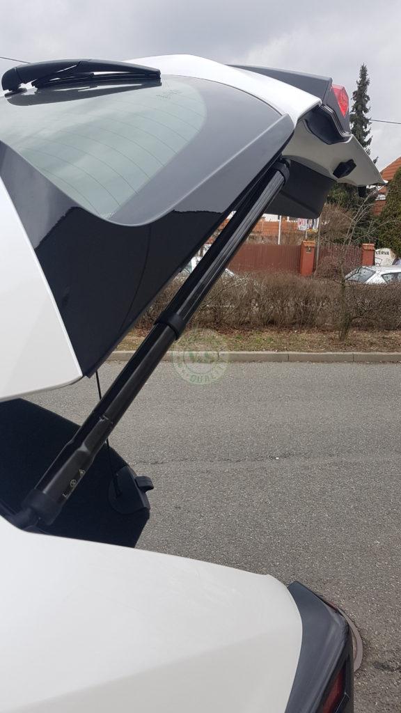 Inteligentny system otwierania i zamykania klapy bagażnika Ford Tourneo Connect 2012 >