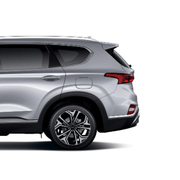 Inteligentny system otwierania i zamykania klapy bagażnika Hyundai Santa Fe 2016 >