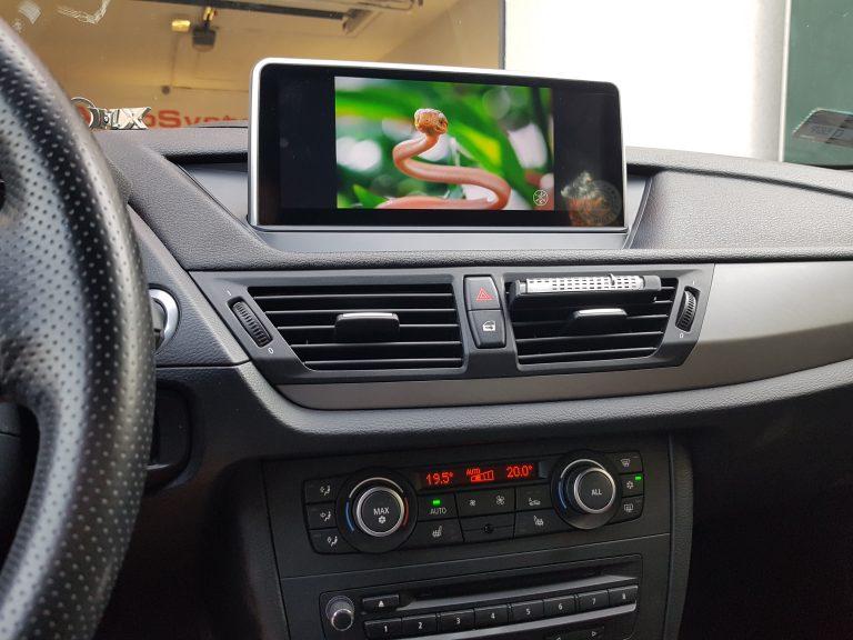 V&S Nawigacja BMW X1 E84 iDrive R - Line + PRO 2009 - 2015