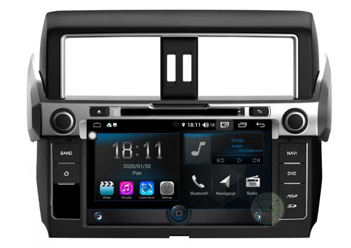 V&S Nawigacja Toyota Prado 2014 >  R – Line + PRO