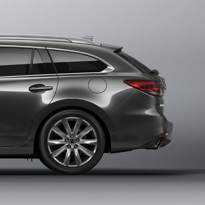 Inteligentny system otwierania i zamykania klapy bagażnika Mazda Sport Wagon 2017 >