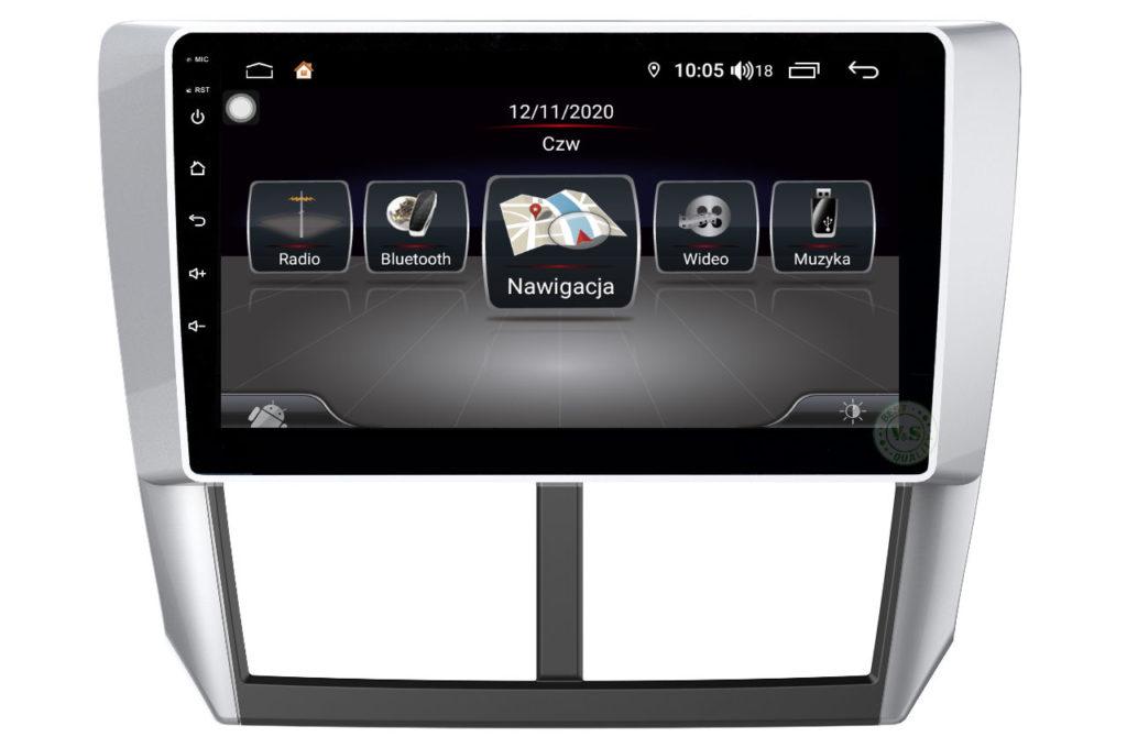 V&S Nawigacja Subaru FORESTER 2010-2012  Business R- Line